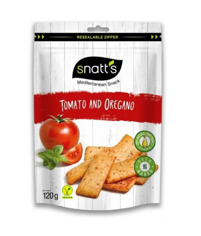 Snatt's Pan Tomate Orégano 120gr T