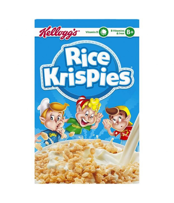 Kelloggs Cereais Rice Krispies 340gr
