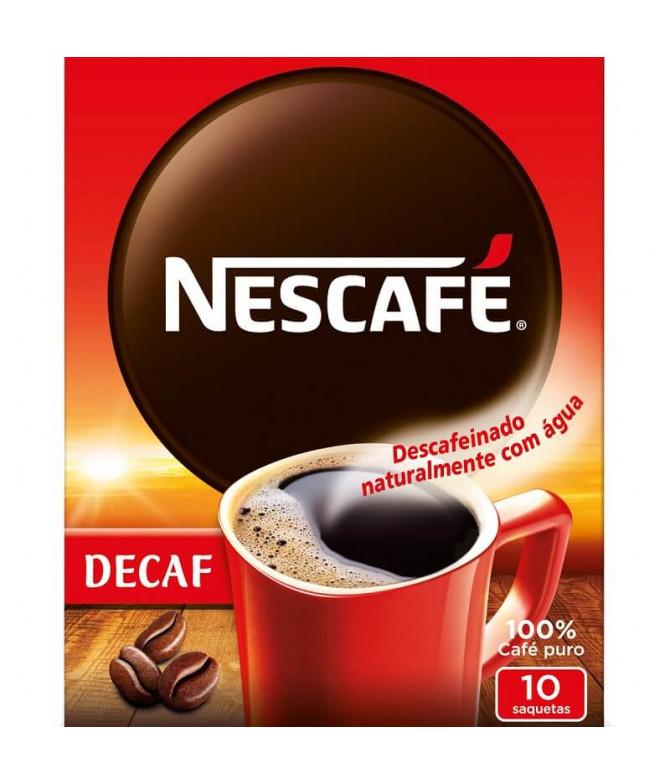 Nescafé Café Solúvel Descanfeinado 10un
