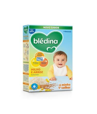 Blédina Papilla Láctea de Maíz y Arroz SIN GLUTEN 250gr