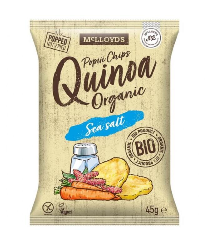 Mc Lloyd's Chips Quinoa Sal BIO 45gr T