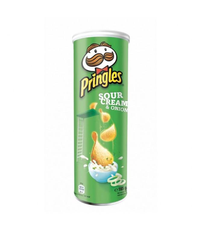 Pringles Sour Cream Cebolla 165gr T
