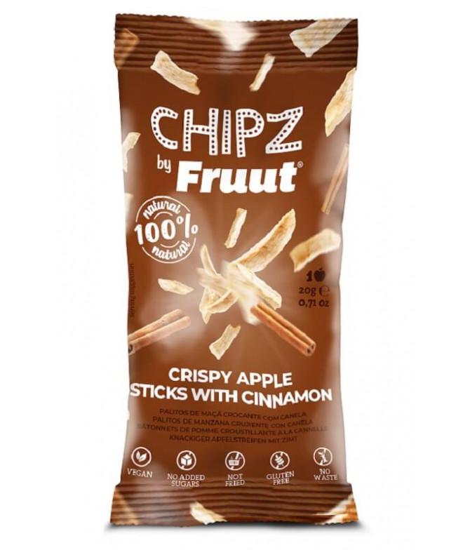 Fruut Chipz 100% Manzana Canela 20gr T
