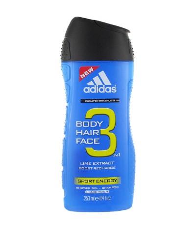 Adidas Gel de Banho Sport Energy 250ml