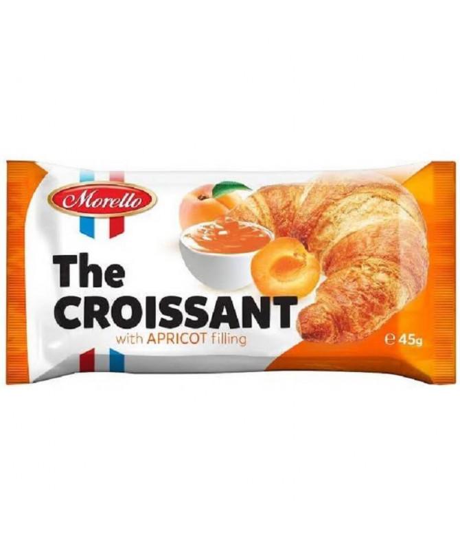 Morello Croissant Recheado Damasco 45gr