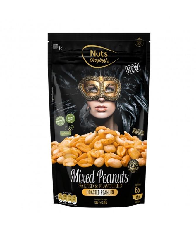 Nuts Original Cacahuetes Tostados con Sal y Especias 150gr