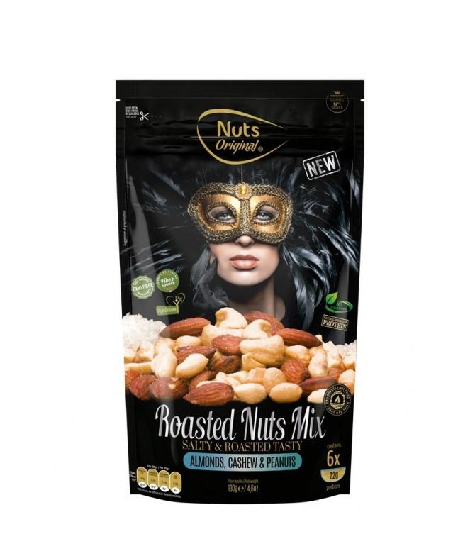 Nuts Original Anacardos, Almendras y Cacahuetes Tostados 130gr