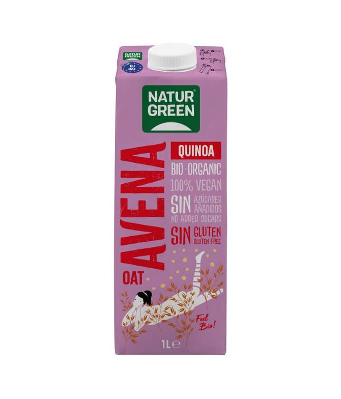 Naturgreen Bebida Aveia Quinoa BIO 1L
