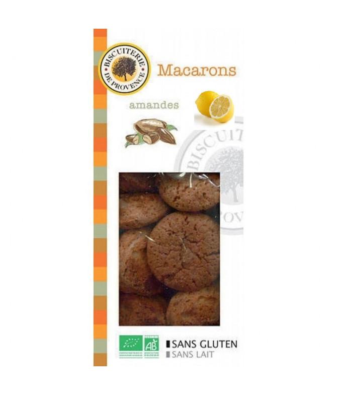 Biscuiterie de Provence Macarons Limón BIO 140gr T