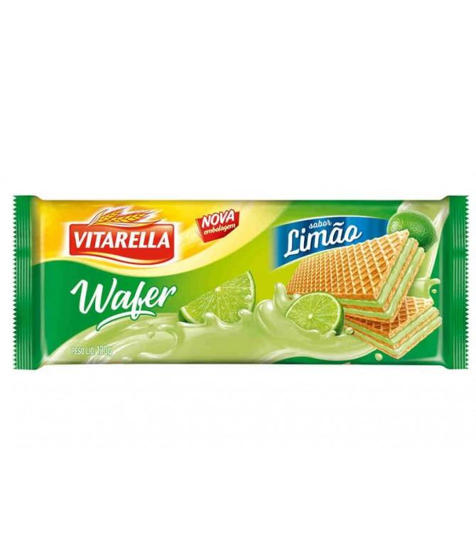 Vitarella Wafer Limão 120gr