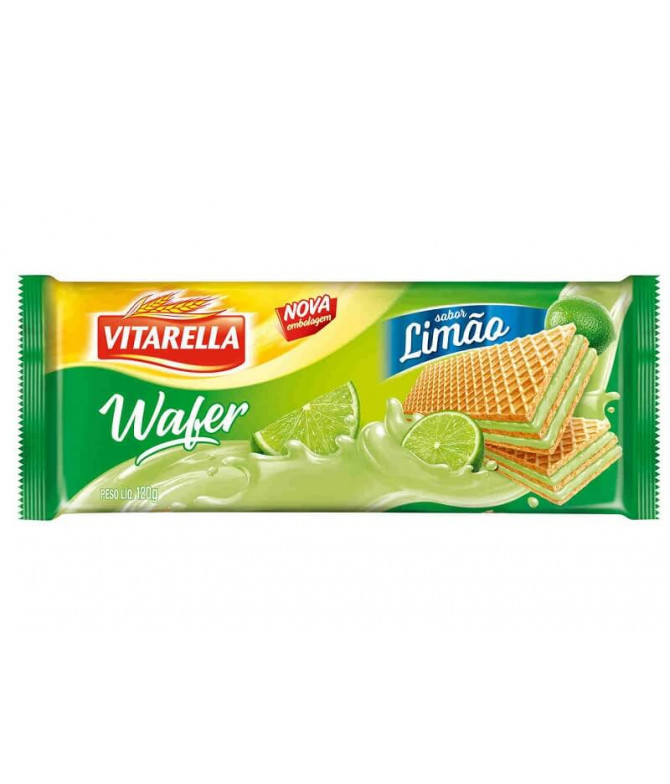 Vitarella Wafer Limón 120gr T