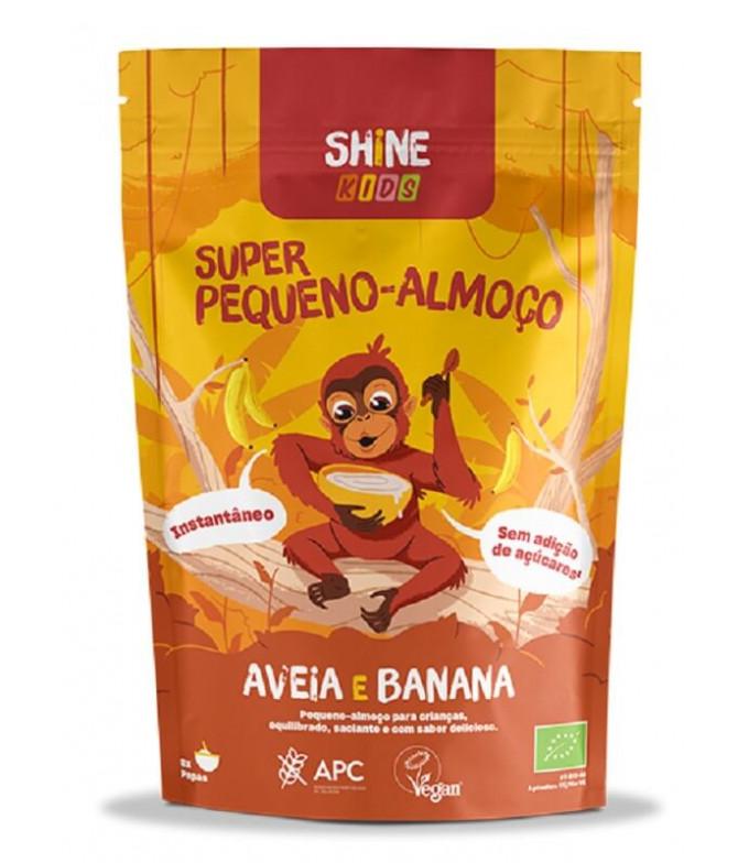 Shine Kids Super Desayuno Avena Plátano BIO 300gr T