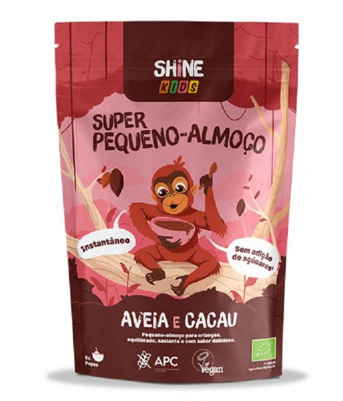 Shine Super Desayuno Kids Avena Cacao BIO 300gr T