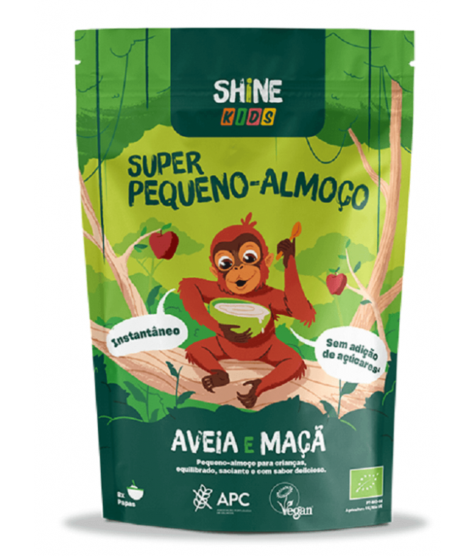 Shine Super Desayuno Kids Avena Manzana BIO 300gr T