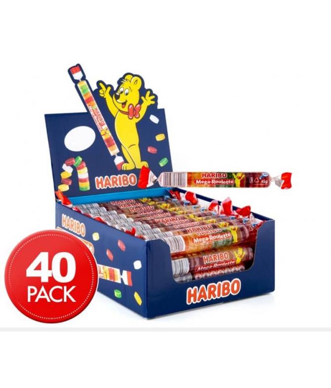 Haribo Mega Roulette 40un T