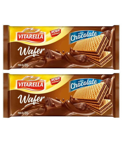PACK 2 Vitarella Wafer Chocolate 120gr