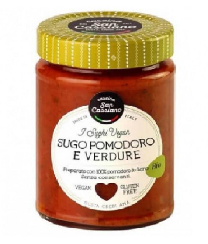 Cascina San Casiano Molho Tomate Vegetais BIO 290g