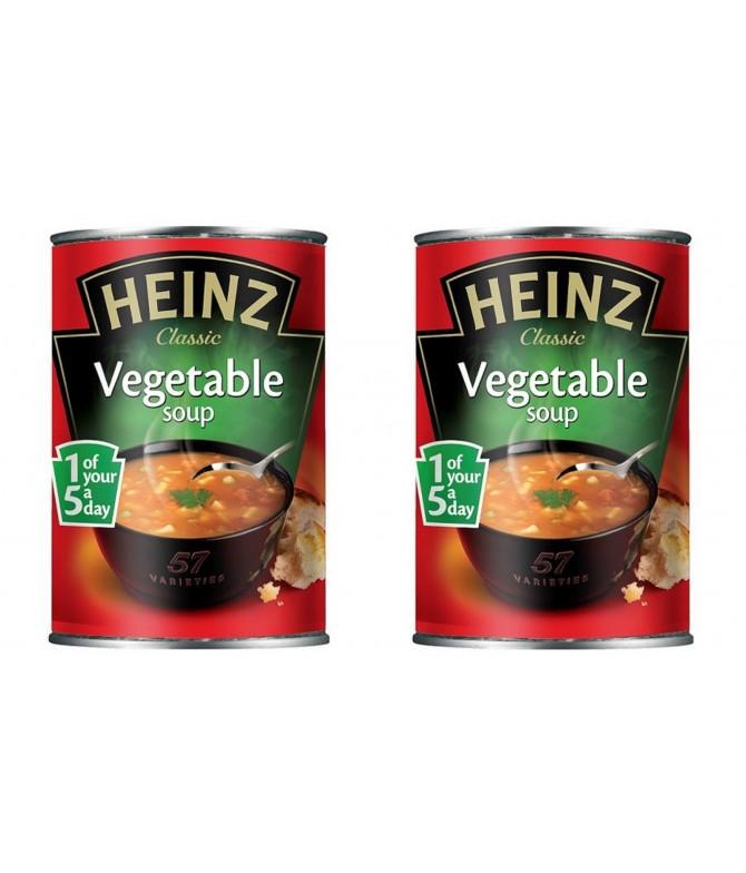 PACK 2 Sopa de Legumes Heinz 400gr
