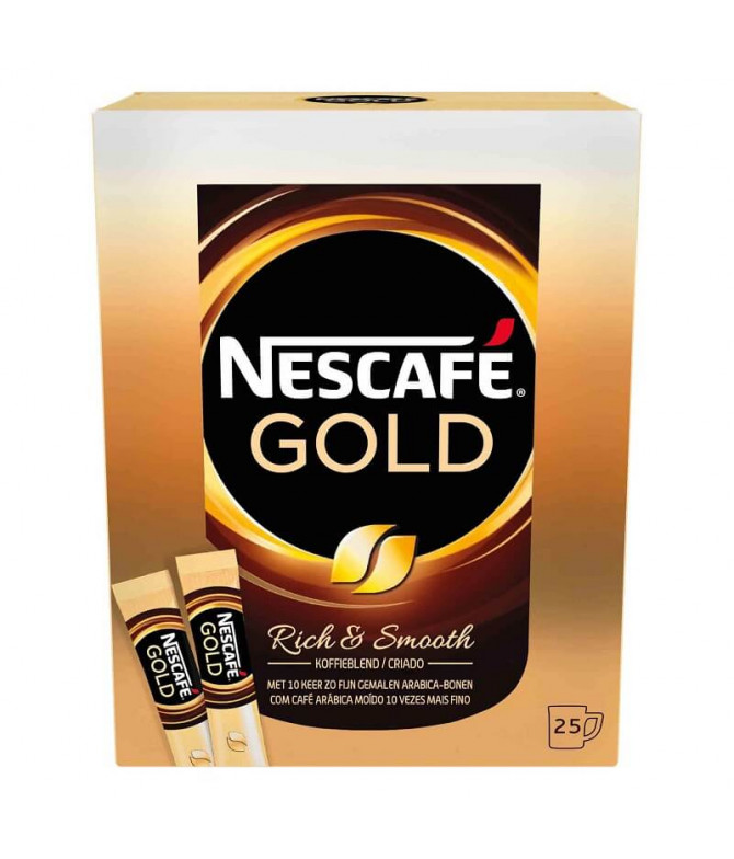 Nescafé Gold Café Solúvel 25un