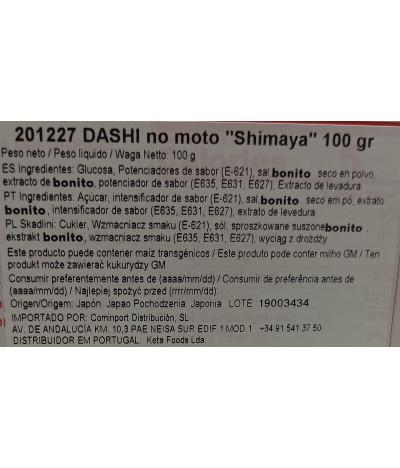 Shimaya Dashi no Moto Condimento Bonito 100gr T