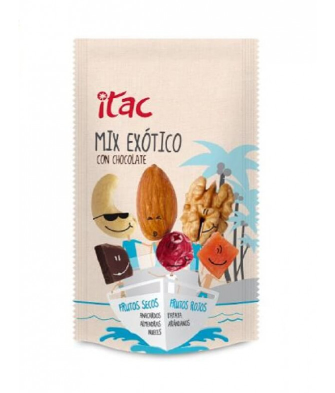 Itac Mix Exótico Chocolate 90gr