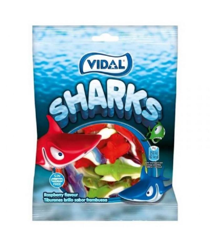 Vidal Gominola Tiburón Brillo 100gr T