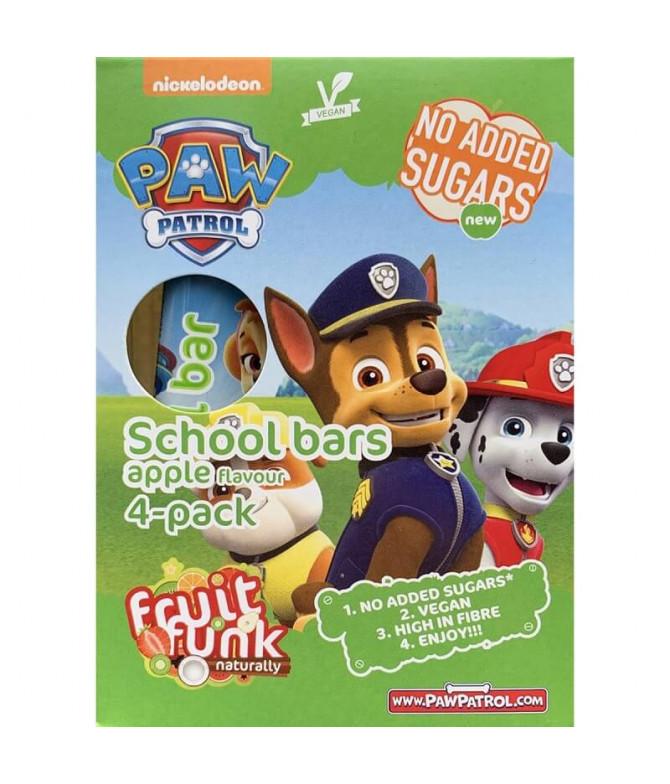 Fruit Funk Patrulha Pata Barra Maçã 4x20gr