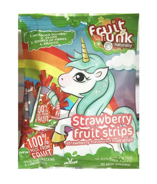 Fruit Funk Bites Fresa 10x10gr t