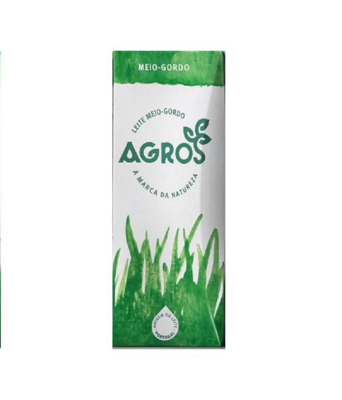 Agros Leite Meio Gordo 200ml