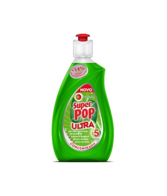 Detergente da Loiça Super Pop Ultra Maçã