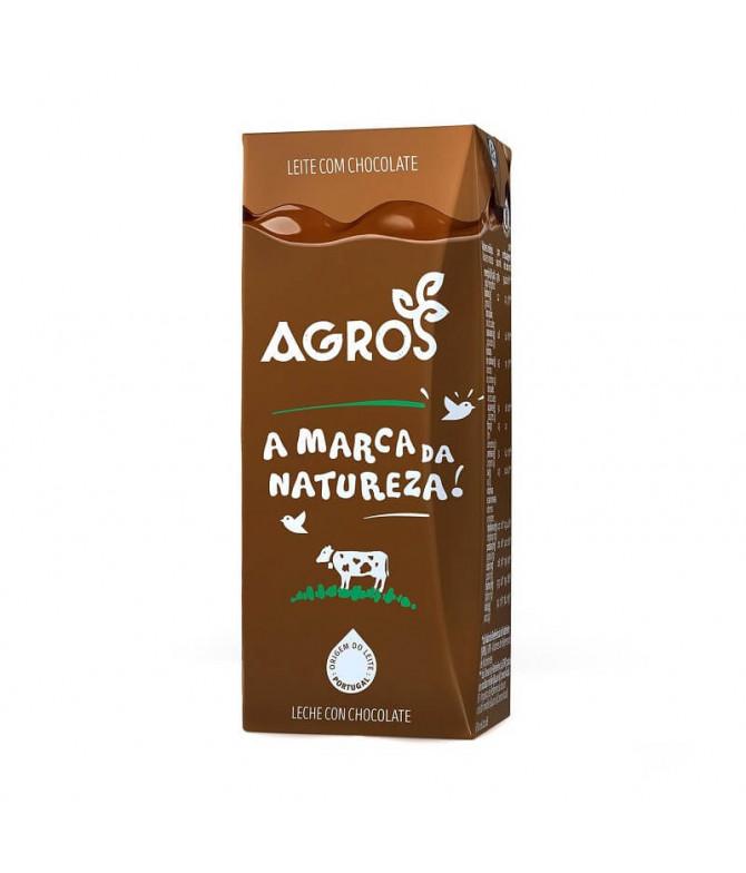 Agros Leite Chocolate 200ml