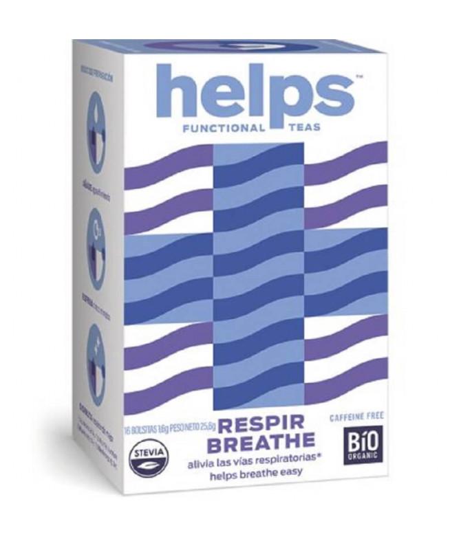 Helps Functional Chá Respir Breathe BIO 16un
