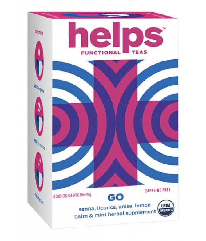 Helps Functional Chá Go Regular BIO 16un
