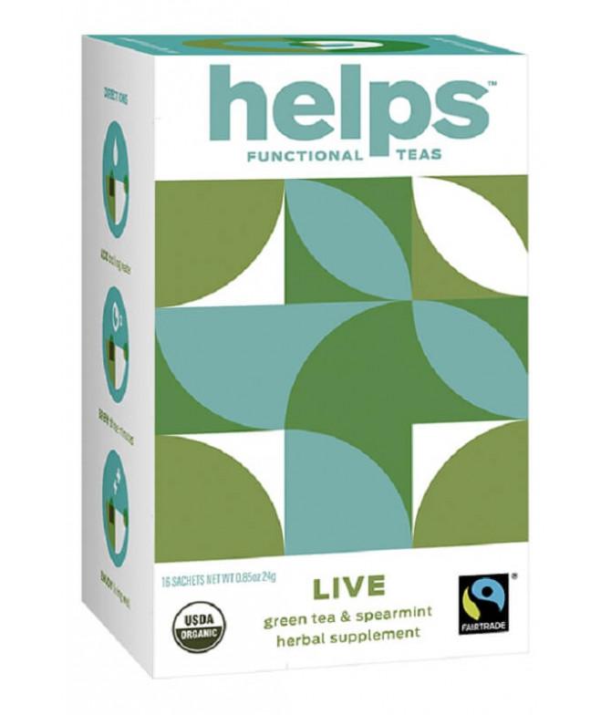 Helps Functional Chá Live BIO 16un