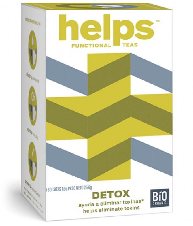 Helps Functional Chá Detox BIO 16un