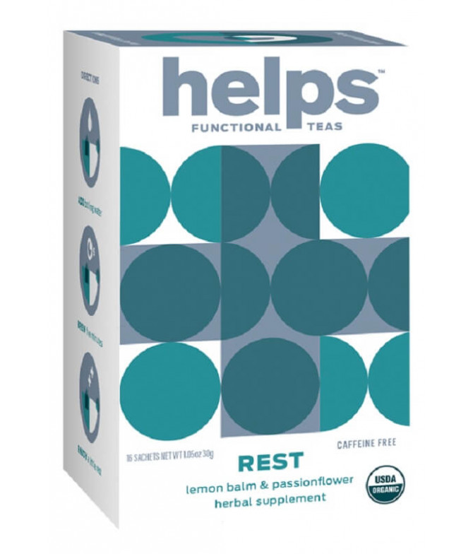 Helps Functional Chá Rest Relax BIO 16un