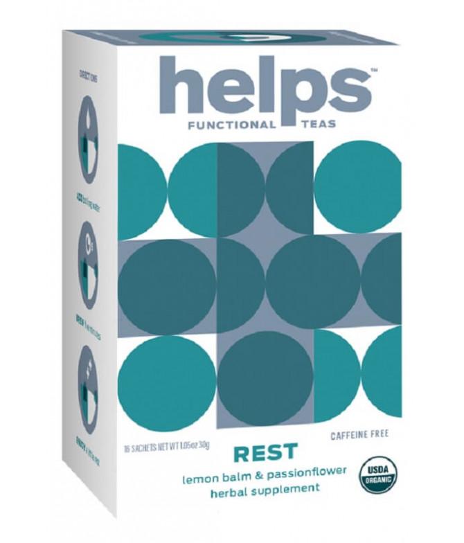Helps Functional Té Rest Relax BIO 16un T