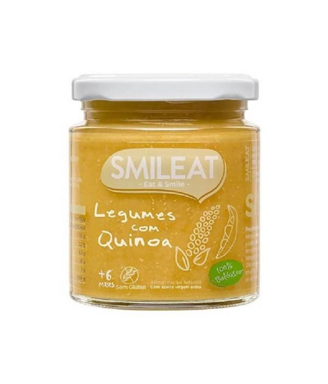 Smileat Boião Legumes Quinoa BIO 230gr