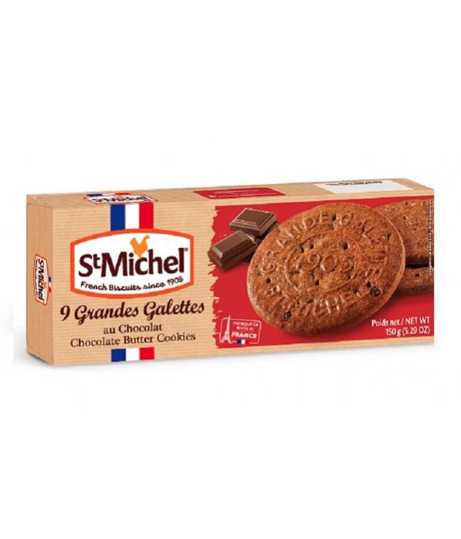 St. Michel Bolacha Manteiga Pepitas Chocolate 150gr