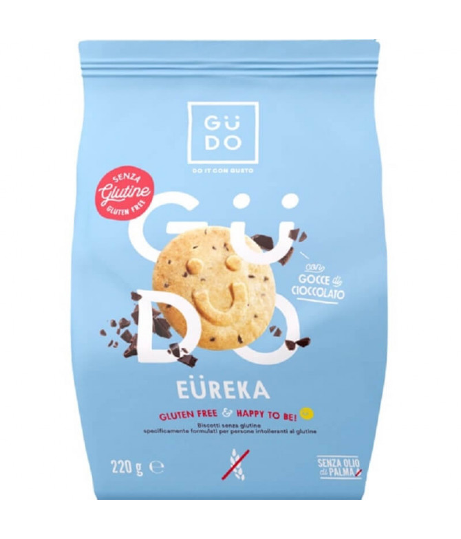 Güdo Galletas Eureka Pepitas Chocolate 220gr T