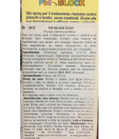 ESI Pid Block Óleo PIOLHO 100ml