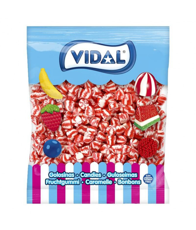 Vidal Gominolas Beso Twist Pica 1Kg