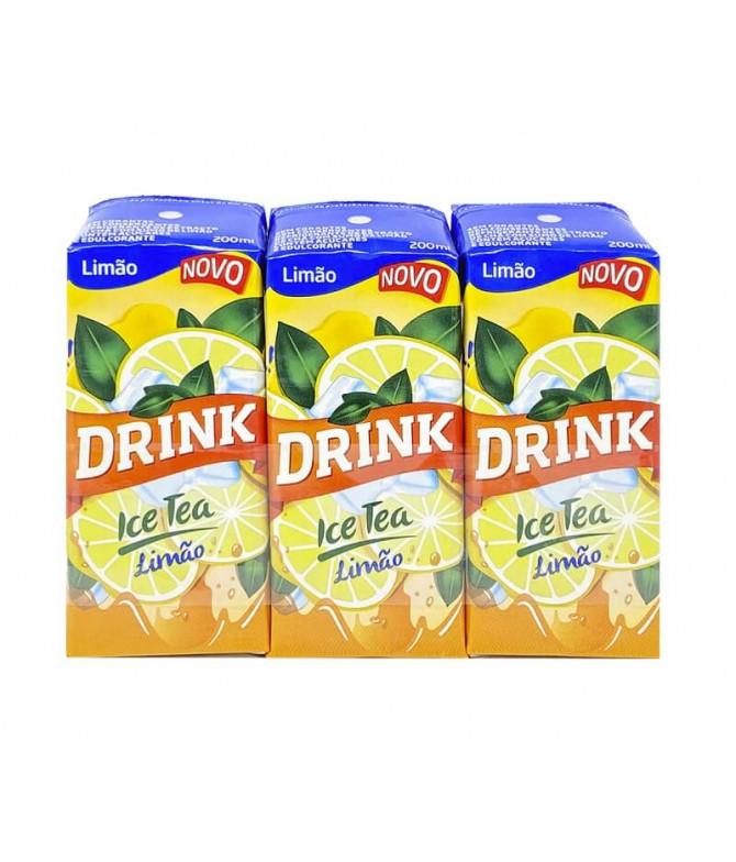 Drink Ice Tea Limón 3x200ml T