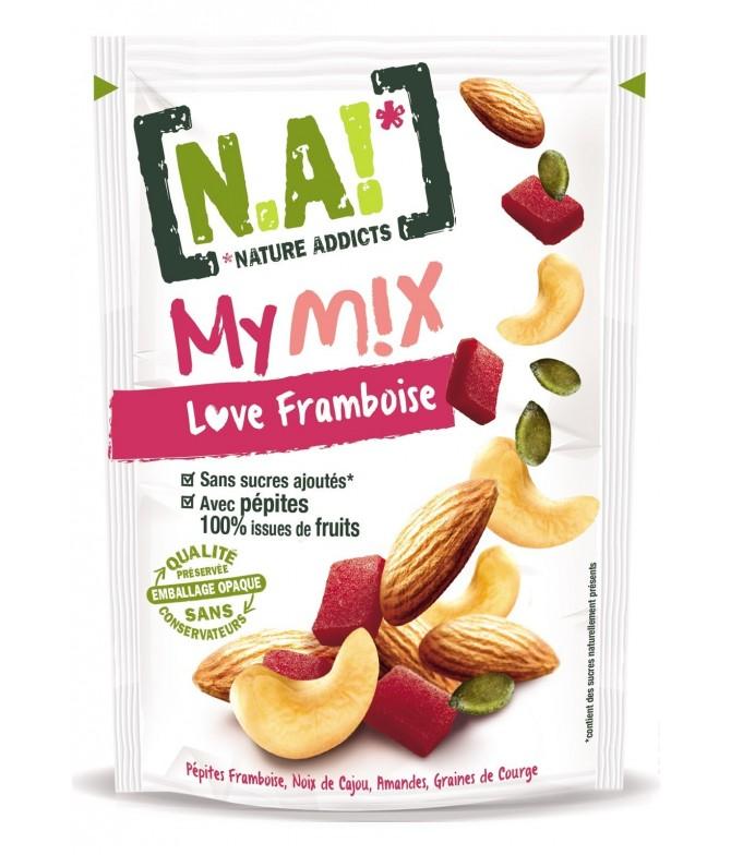 MyMix Frutos Secos & Framboesa 120gr