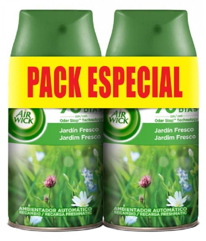 AirWick Freshmatic Jardim Fresco Rec 2x250ml