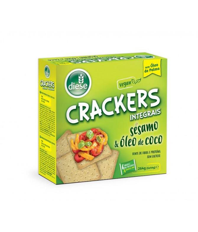 Diese Cracker Integral Sésamo Óleo Coco 6x44gr
