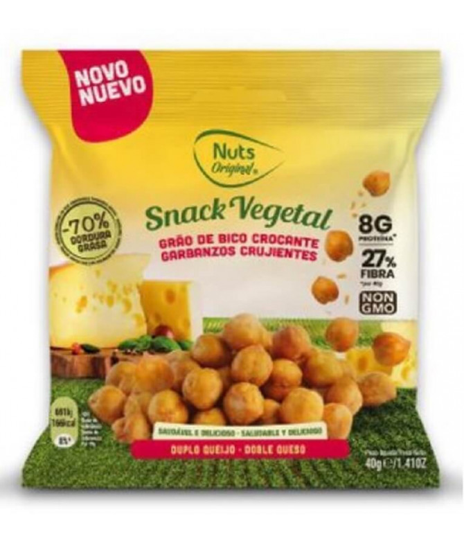 Nuts Original Garbanzos Doble Queso 40gr T