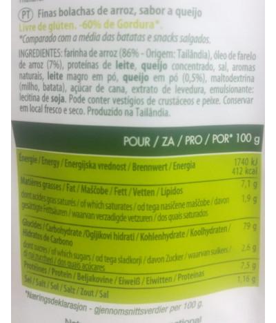 Nature Addicts Cracker Arroz Queso 70gr T