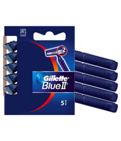 Gillette Blue II Maquinilla de Afeitar 5un