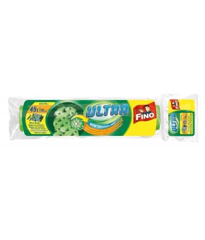Sacos Lixo Aroma Sabão Oliva Fecho Fácil 45L VERDE 10Un